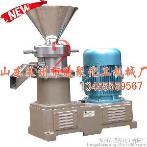 【专业生产】JM130不锈钢胶体磨 卧式胶体磨 花生酱/果酱食品专用