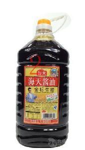 好吃 4.9L 鲜甜 佛山生产 供应 *子 海天海鲜酱油 *2桶