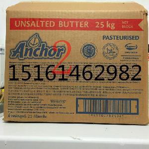 新西兰安佳大黄油25kg原装(无盐)烘焙原料黄油 动物黄油