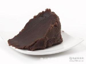 京日豆沙豆馅 烘焙豆沙面包用馅料 切糕馅料 京日红豆沙馅料JB5