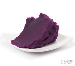 京日豆沙豆馅 京日紫甘薯豆沙馅料JZS58M 烘焙用紫薯沙原料