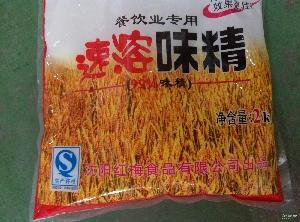 红梅餐饮速溶淀粉2kg袋装拌菜烧烤*味精