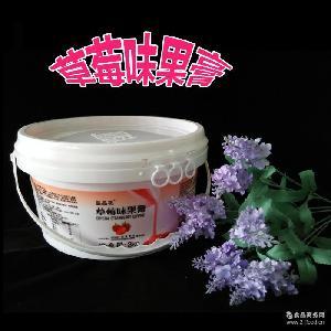 3kg/罐 草莓果膏 烘焙原料 立高晶晶亮果膏(镜面果胶) 立高果膏