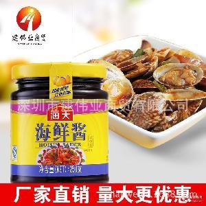 菜肴牛排烧烤火锅点蘸抑腥调料调味酱 5瓶装海天海鲜酱250g*15