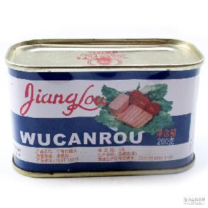 江楼牌午餐肉罐头200g 火锅面食旅游*食材 48罐/箱