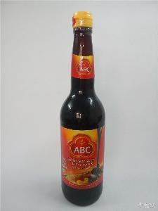 印尼进口大豆甜酱油调味汁 ABC甜酱油620ml*12