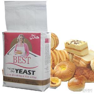 酵母500g出口内销 面包酵母 天然高营养酵母粉 高活性面包干酵母