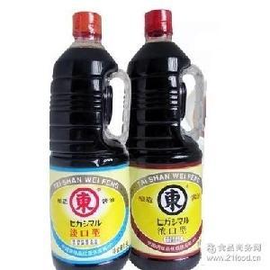 1.8L 全国包邮日本料理调味品日本酱油东字酱油东字淡口酱油