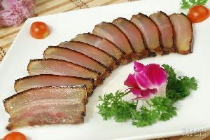 一箱10包 农家自制腊肉 烟熏腊肉 湖南特产 每袋500g
