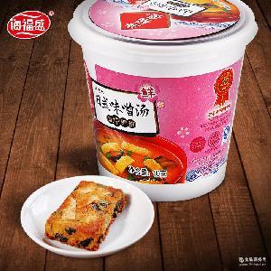 海福盛日式味噌汤 速食汤料包即食蔬菜高汤速溶方便汤杯装味增汤