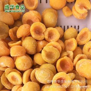 厂家直销 速冻黄桃 产地销售散装速冻水果【图】 速冻水果黄桃瓣