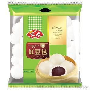 馒头早餐 速冻面点红豆包 上海安井总代理商广式面点红豆包
