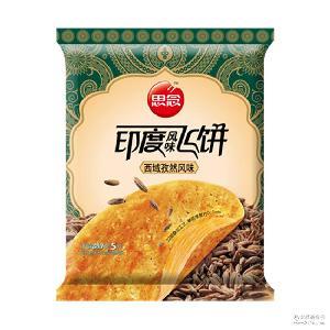 思念速冻面点食品早点 300g/袋加热即食品 印度西域孜然飞饼