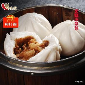 24包*300G*12个 广式港式早点/面点 广州酒家利口福叉烧小笼包