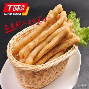 千点茴香小油条冷冻油炸食品300g/包面点类特色小吃茴香味油条