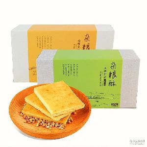 420g无糖黄豆 玉涛无糖杂粮酥 黑豆 手工制作无糖饼干 荞麦酥饼