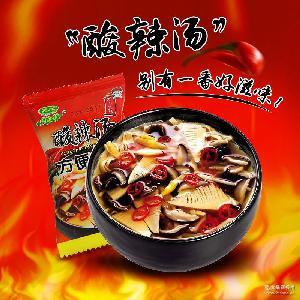 速食汤芙蓉鲜疏汤蔬菜方便速溶汤方便汤8g 新美香酸辣蛋花汤