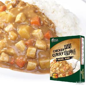 苏伯鸡肉咖喱200g/袋不辣加热即食拌米饭方便快捷夏季热销
