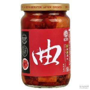 进口豆制品 调味品 江记红曲豆腐乳370g 进口台湾食品代理批发