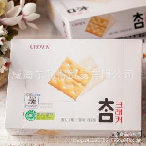 韩国进口食品 韩国可拉奥无糖饼干 太口 280g