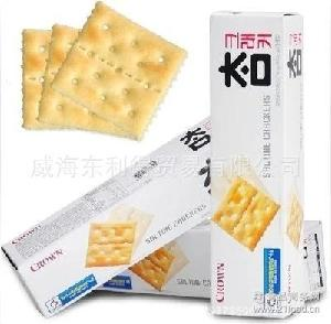 小太口 韩国食品批发 一箱24个 韩国饼干 可拉奥无糖饼干