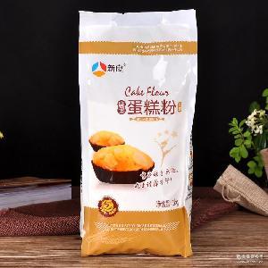 小麦粉烘培原料 糕点饼干专业面粉 新良魔堡蛋糕粉1kg*10低筋面粉