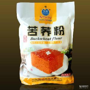 云南特产 蛋糕馒头粉 420g 星益苦荞粉 中筋面粉 自发苦荞麦粉