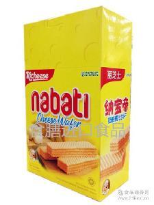丽芝士纳宝帝奶酪威化饼干200g*12盒/箱 批发 印尼进口