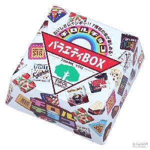 日本进口巧克力 喜糖松尾多彩什锦夹心巧克力27粒 进口零食批发