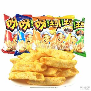 40g多种口味膨化九州娱乐官网休闲零食整箱32包休闲零食 好丽友呀土豆