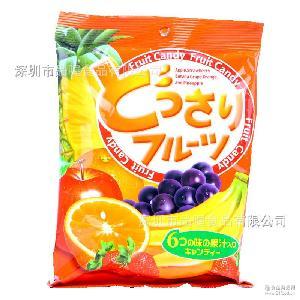 休闲小袋装糖果Cocom/可康多口味果汁糖140g 批发 马来西亚进口