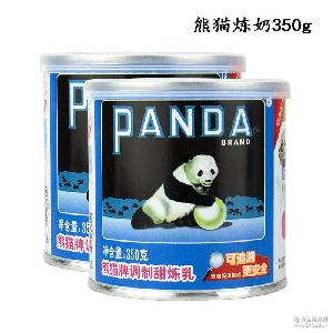 甜点奶茶蛋挞皮液材料 熊猫牌调制甜炼乳炼奶 烘焙原料350g