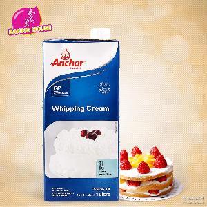 安佳淡奶油鲜奶油蛋糕裱花动物性奶油1L