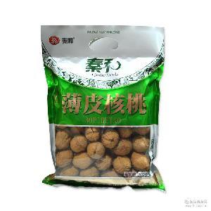 2016上新光皮核桃 现货供应 陕西特产 新鲜薄皮核桃肉嫩味甜