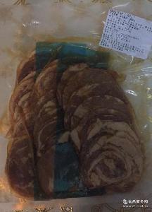 拉面叉烧肉 味千拉面配料无汁叉烧肉500克 日式猪五花叉烧肉