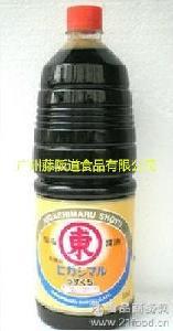 1.8L日本原装! 本料理/调味品 日本酱油东字酱油东字淡口酱油