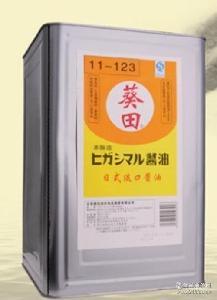 日本酱油 淡口酱油 葵田18L淡口铁桶装 葵田淡口酱油酱油