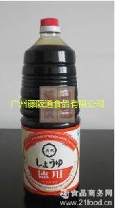 黄豆本酿造寿司刺身*调味品 葵田酱油1.8L葵田日味浓口酱油