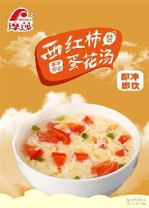 摩莎西红柿蛋花汤鲜蔬汤宵夜速食汤速溶汤方便汤汤包8g袋装包装