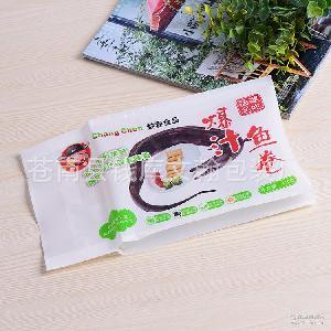 专业生产小吃鱼卷广告包装袋 冷冻汤圆塑料袋定制 速冻面点包装袋