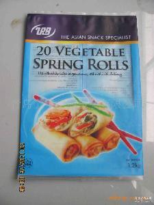 厂家定制各类速冻面点食品包装袋 食品包装袋 猪肉白菜煎饺袋