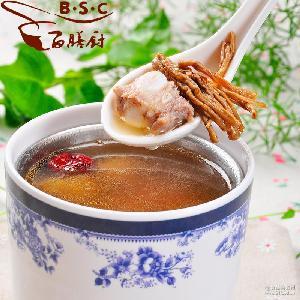 冷冻汤料包 厂家批发 速冻食品 百膳厨70g茶树菇龙骨汤 广东汤料