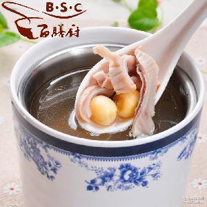 冷冻汤料包 冻品 厂家批发 百膳厨50g猪肚汤莲子汤 半成品食品
