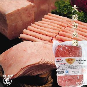 20g*25片/袋 大成方火腿 低脂肪 烘焙原料 三明治