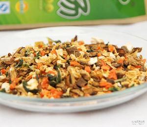 牛蒡茶 大量批发庆恒散装五行蔬菜汤15克一包 牛蒡片颗粒 散装