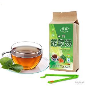 10包起批 牛蒡茶 庆恒新品简装 包邮 糙米茶 五行蔬菜汤