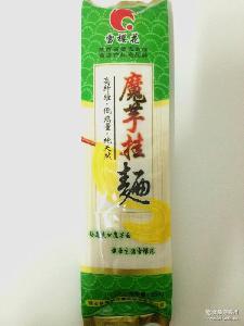 250克袋装 家常健康优质面条 【陕西特产批发】魔芋挂面 纯天然