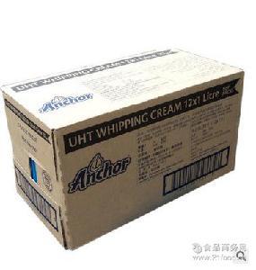 动物性淡奶油 新西兰原装安佳淡奶油 新货 稀奶油批发 1L*12/箱