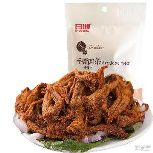 手撕肉条日洲香辣牛肉味猪肉干零食袋装52g休闲食品小吃晋江特产