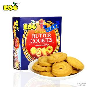 单盒90g 进口马来西亚EGO奶油曲奇早餐饼干糕点